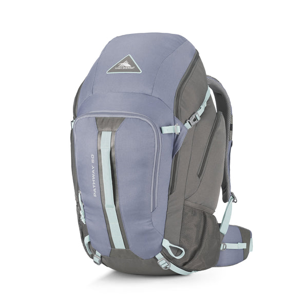 High Sierra Pathway Sac à dos 50 L - Grey Blue/Mercury/Blue Haze