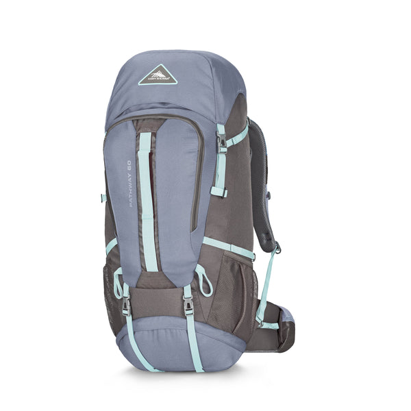 High Sierra Pathway Sac à dos 60 L - Grey Blue/Mercury/Blue Haze