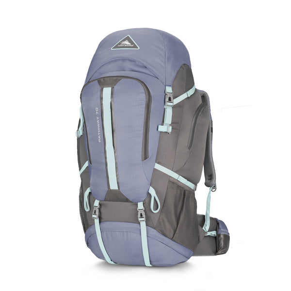 High Sierra Pathway Sac à dos 70 L - Grey Blue/Mercury/Blue Haze