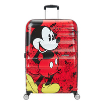 American Tourister Disney Wavebreaker Grande valise spinner - Mickey Comics Red