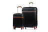 Champs Vintage Collection Ensemble de 2 valises rigides Spinner - Noir