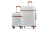 Champs Vintage Collection Ensemble de 2 valises rigides Spinner - Ivory