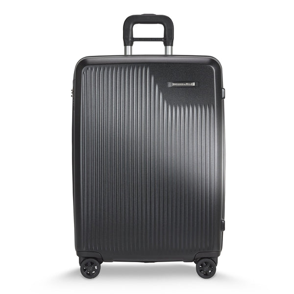 Briggs & Riley Sympatico Valise Moyenne Extensible avec Roulettes Spinner - Noir