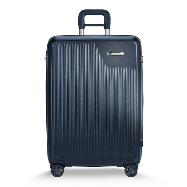 Briggs & Riley Sympatico Valise Moyenne Extensible avec Roulettes Spinner - Marine