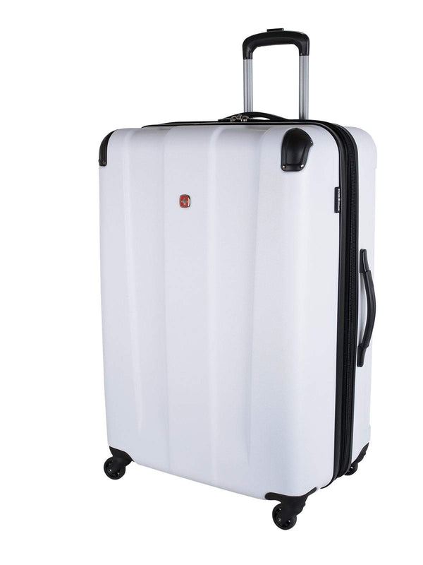"Swiss Gear Protector Collection Valise extensible spinner de 28"" - Blanc"