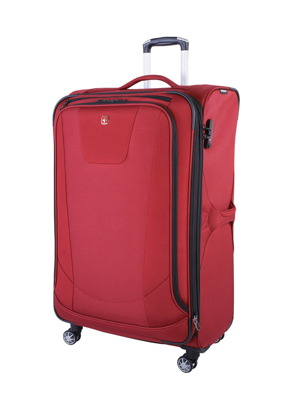 "Swiss Gear Neo Lite 3 Valise de 29"" extensible spinner - Rouge"