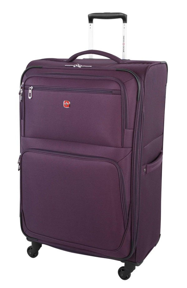"Swiss Gear Exposure Collection Valise extensible spinner de 28"" - Mauve"