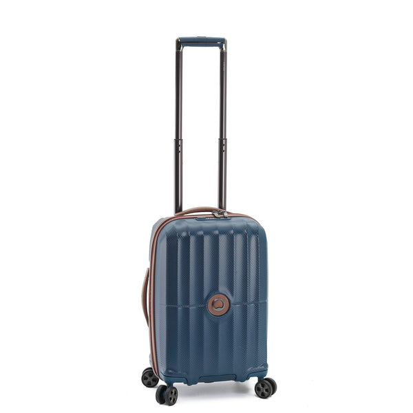 "Delsey St. Maxime 19"" Carry-On Spinner Luggage - Navy"