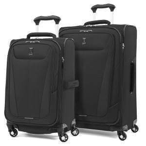 Travelpro Maxlite 5 Breakaway - Ensemble de 2 valises extensibles spinner - Noir