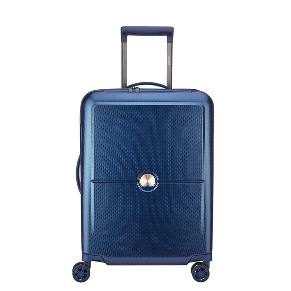 Delsey Turenne Carry-On Spinner Luggage - Midnight Blue