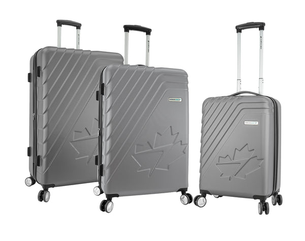 WestJet Saturn Ensemble de 3 valises rigides extensibles spinner