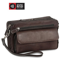 Mancini Collection COLOMBIEN Sac unisexe de luxe