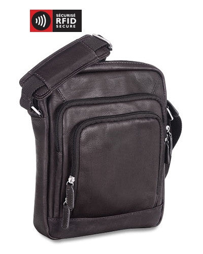 Mancini Collection COLOMBIEN Sac fourre-tout unisexe pour tablette - Black