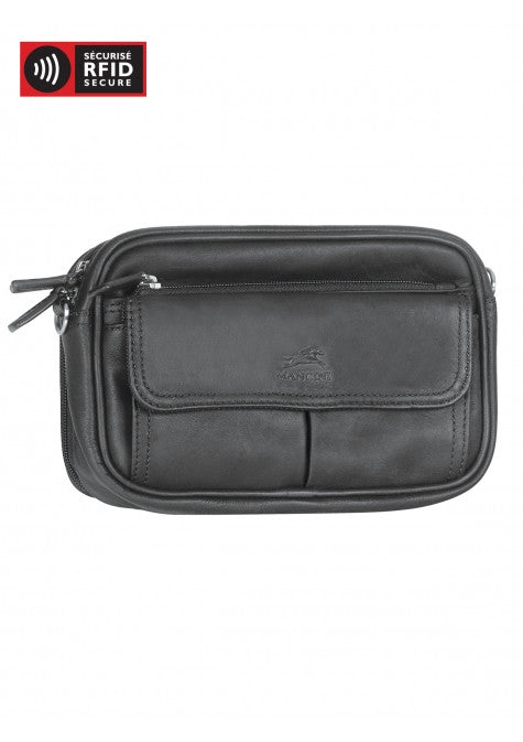 Mancini Collection COLOMBIAN Sac Unisexe Compact - Noir