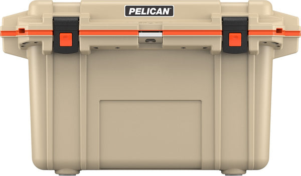 Pelican 70QT Elite Glacière - Beige/Orange
