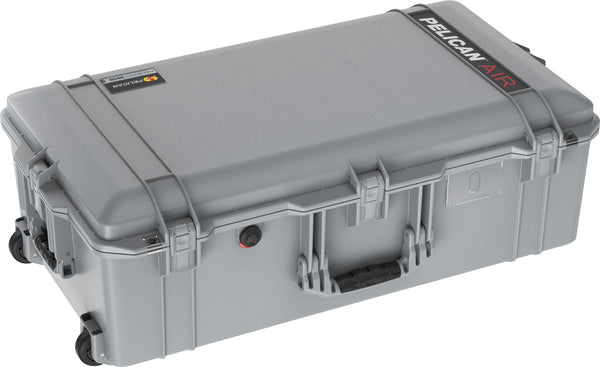 Pelican 1615 Air Case Caisson de protection - Sans mousse - Argent