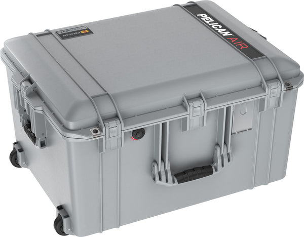 Pelican 1637 Air Case Caisson de protection- Sans mousse - Argent