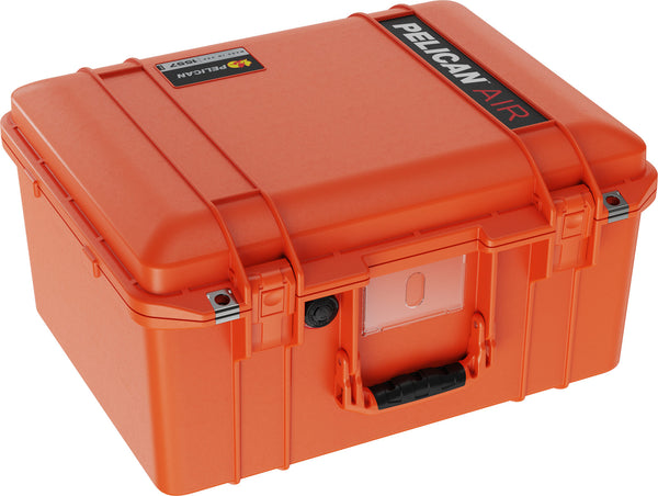 Pelican 1557 Air Case Caisson de protection - Sans mousse - Orange