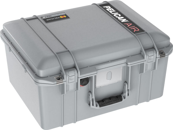 Pelican 1557 Air Case Caisson de protection - Sans mousse - Argent