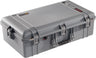 Pelican 1605 Air Case Caisson de protection - Sans mousse - Argent