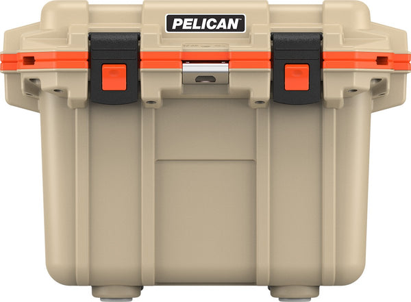 Pelican 30QT Elite Glacière - Beige/Orange