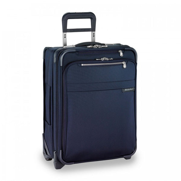 Briggs & Riley Baseline Valise taille cabine extensible - Navy