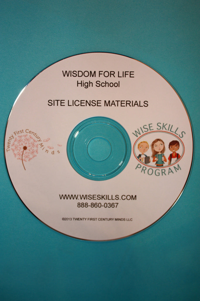 Wisdom for Life Site License (for up to 50 Users) for Grades 9 - 12