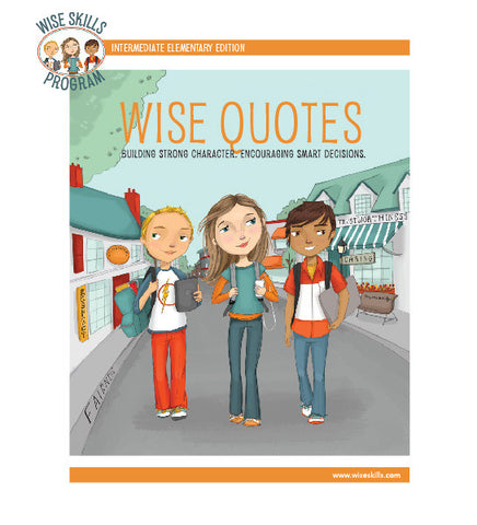 Wise Quotes for Grades 3 - 5