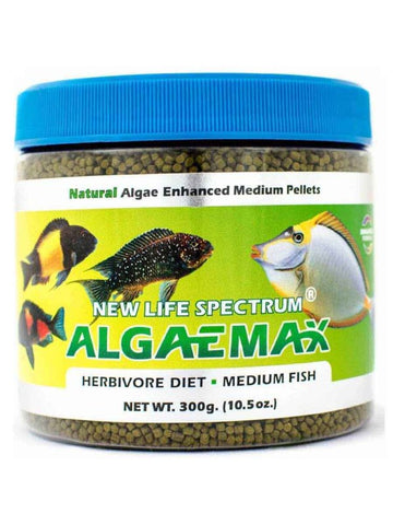 AlgaeMax Medium 1mm Algae Enhanced Pellet 250g