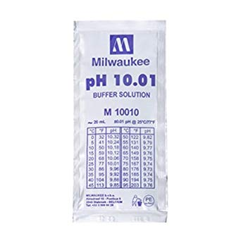 Milwaukee PH10.01 Buffer solution 25pcs