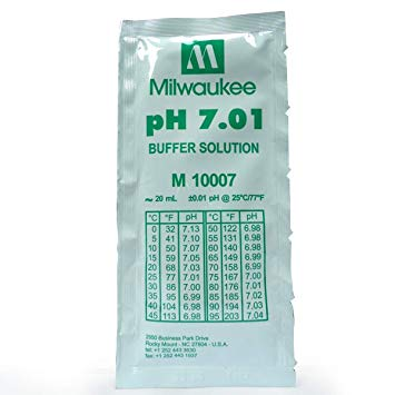 Milwaukee PH7.01 Buffer solution 25pcs