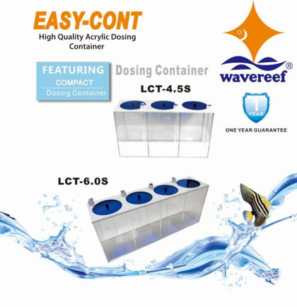 6L Dosing Container [4 compartment]