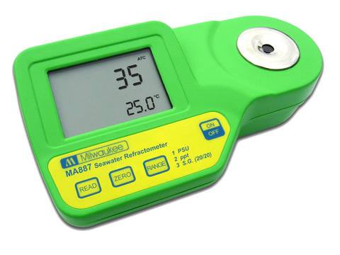 Milwaukee Digital Refractometer for Seawater