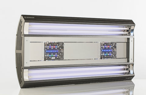 Aurora Hybrid  1200mm 4x54 T-5 + 3 LED Panel 85W