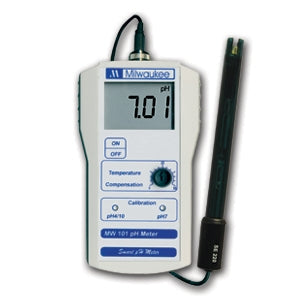 Milwaukee Portable PH Meter with 0.01 PH resolution