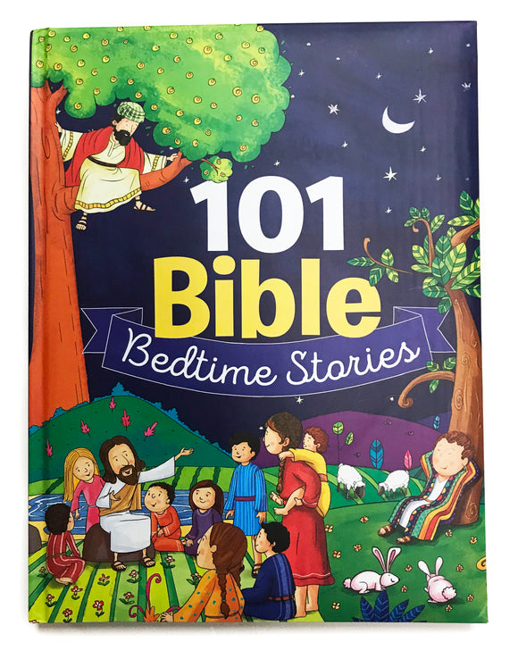 Book - 101 Bible Bedtime Stories