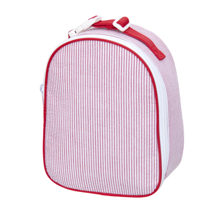 Seersucker Gum Drop Lunchbox - Red