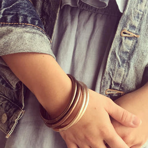 BuDhaGirl All Weather Bangles - Fawn