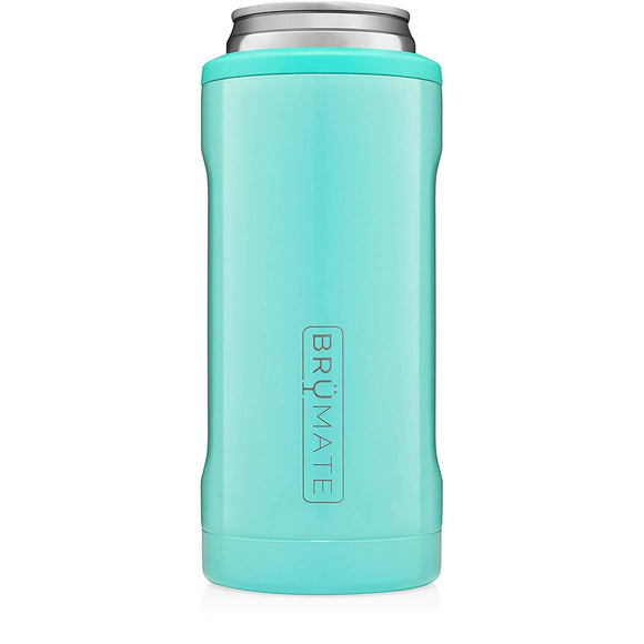Brumate Slim Can Cooler - Aqua
