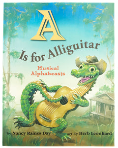 Book - A is for Alliguitar