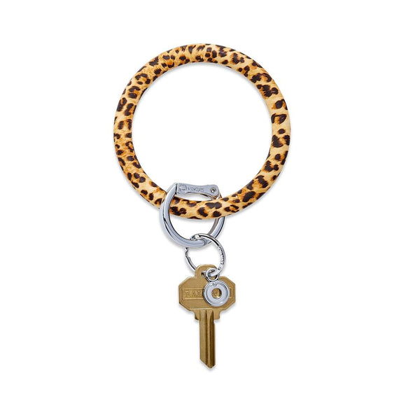 Big O Key Ring Silicone - Cheetah