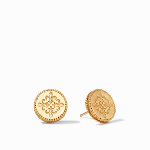 Julie Vos Earrings  - Fleur-dis-Lis Stud