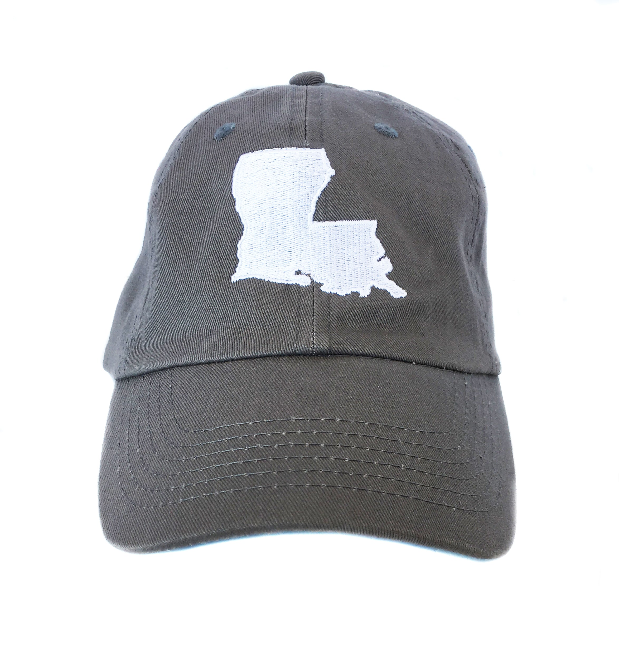 Louisiana Hat- Grey
