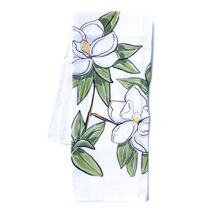 Kitchen Towel - Magnolias