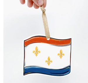 Ornament - New Orleans Flag