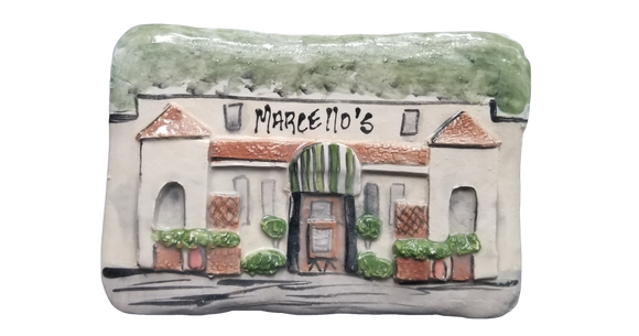 Louisiana Plaques - Marcello's Restaurant