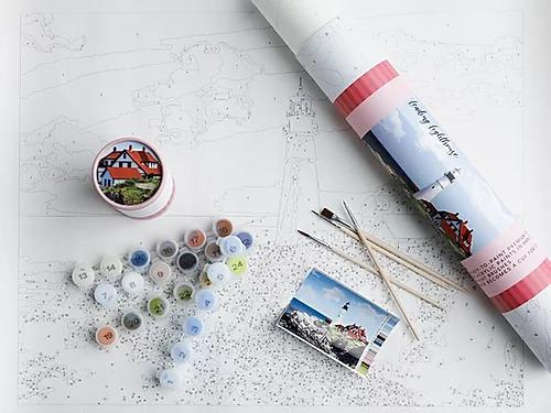 Paint By Numbers -Lighthouse