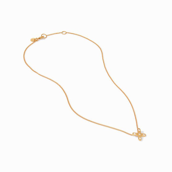 Julie Vos Necklace - Paris X CZ Delicate