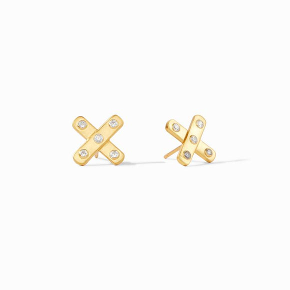 Julie Vos Earrings  - Paris X CZ Stud