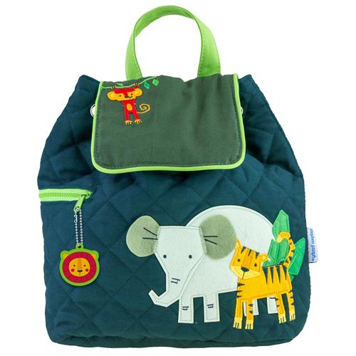 Stephen Joseph Quilted Backpack - Zoo